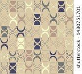 seamless abstract mid century...   Shutterstock .eps vector #1430751701