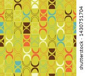 seamless abstract mid century...   Shutterstock .eps vector #1430751704