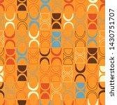 seamless abstract mid century...   Shutterstock .eps vector #1430751707