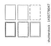 handdrawn doodle frame...   Shutterstock .eps vector #1430778047