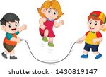 the boys are playing the...   Shutterstock .eps vector #1430819147
