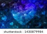 dark blue vector  background... | Shutterstock .eps vector #1430879984