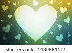 light green  yellow vector ... | Shutterstock .eps vector #1430881511
