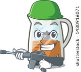 army tea maker isolated with... | Shutterstock .eps vector #1430916071