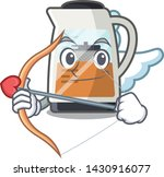 cupid tea maker isolated with... | Shutterstock .eps vector #1430916077
