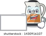 with board tea maker isolated... | Shutterstock .eps vector #1430916107