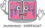 finger manicure kit in the... | Shutterstock .eps vector #1430916167
