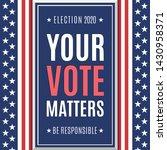american presidential election... | Shutterstock . vector #1430958371