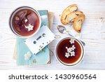 still life   cups of tea ... | Shutterstock . vector #1430960564