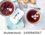 still life   cups of tea ... | Shutterstock . vector #1430960567