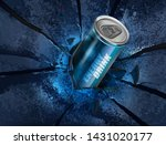 energy drink canned on... | Shutterstock .eps vector #1431020177
