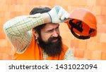 hard work at a construction... | Shutterstock . vector #1431022094