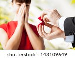 picture of couple with wedding... | Shutterstock . vector #143109649