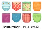 color patch pockets. comfort... | Shutterstock .eps vector #1431106061
