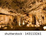the throne room in the cango... | Shutterstock . vector #143113261