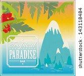 vector vintage travel poster   Shutterstock .eps vector #143118484