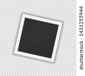 polaroid photo frame. square... | Shutterstock .eps vector #1431255944
