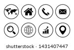 web icon set symbol vector | Shutterstock .eps vector #1431407447