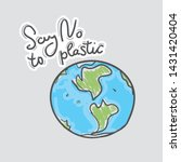 Say No To Plastic. Earth ...