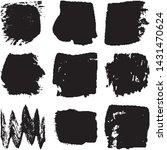 vector dry brush stroke grunge. ... | Shutterstock .eps vector #1431470624