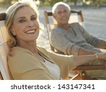 portrait of happy middle age... | Shutterstock . vector #143147341