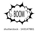 vector boom cloud