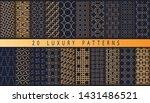 set of vector luxury patterns....