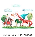 Watercolor Heroic Card....
