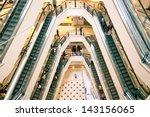 shopping mall | Shutterstock . vector #143156065