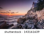The Bass Harbor Head Light ...