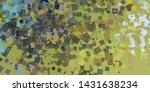 artistic sketch backdrop... | Shutterstock . vector #1431638234