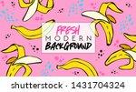 summer. fresh modern background....   Shutterstock .eps vector #1431704324