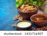 still life in a rustic style.... | Shutterstock . vector #1431716507