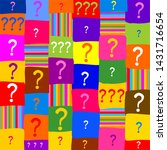 colorful  background with... | Shutterstock . vector #1431716654