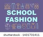 school clothes fashion word...