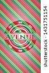avenue christmas emblem... | Shutterstock .eps vector #1431751154