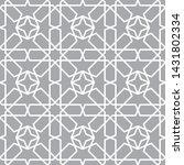 oriental seamless vector... | Shutterstock .eps vector #1431802334