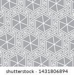 oriental vector pattern. arabic ... | Shutterstock .eps vector #1431806894
