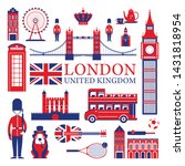 london  england and united... | Shutterstock .eps vector #1431818954