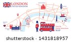 london  england travel and... | Shutterstock .eps vector #1431818957