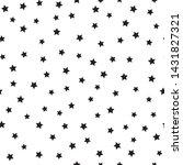 star seamless pattern. white... | Shutterstock .eps vector #1431827321