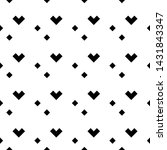 seamless pattern. rhombuses ... | Shutterstock .eps vector #1431843347