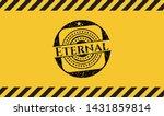 eternal inside warning sign ...   Shutterstock .eps vector #1431859814