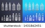 vector realistic plastic... | Shutterstock .eps vector #1431862451