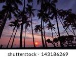 Sunset  Big Island Of Hawaii ...