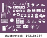 vector set  education vector set | Shutterstock .eps vector #143186359