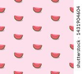 trendy seamless pattern with... | Shutterstock .eps vector #1431904604