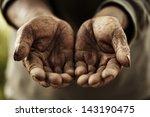 farmer hands.   Shutterstock . vector #143190475