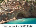 cave in the rock | Shutterstock . vector #143191144