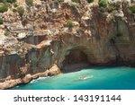 cave in the rock | Shutterstock . vector #143191144